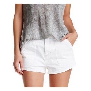 🆕 Free People • High Rise Jean Shorts 26/2